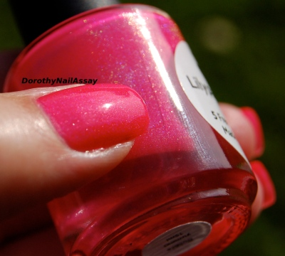 Bubble yummo Lilypad lacquer outdoors sunlight