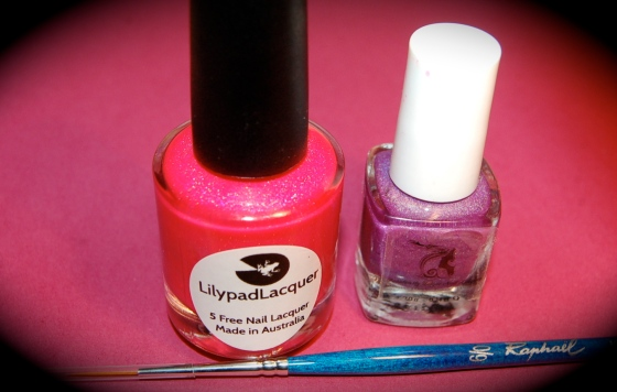 Bubble yummo lilypad lacquer et  Rapunzel clollection princess Fun lacquer