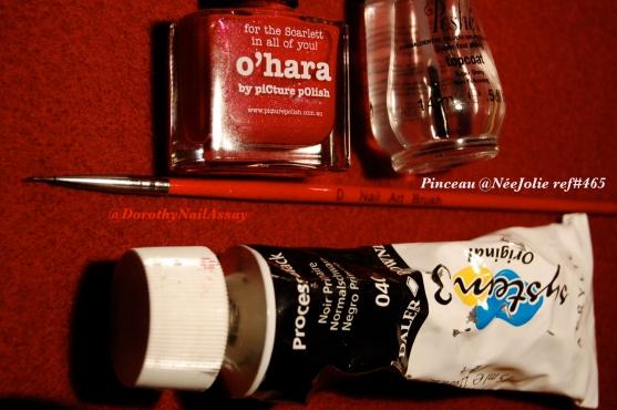 O'hara piCture pOlish nail art endiablé pour Halloween