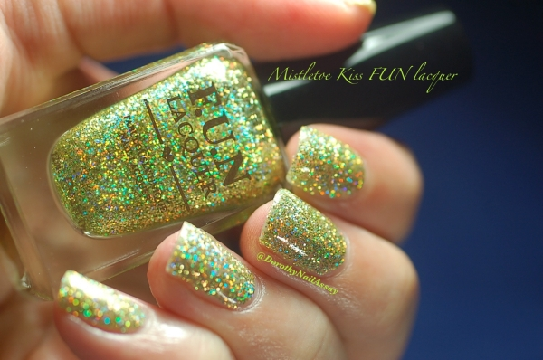 FUN lacquer mistletoe swatch 12