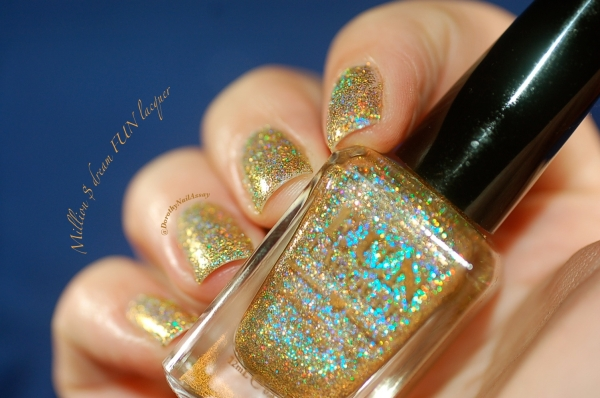 FUN lacquer swatch million dollar dream 1