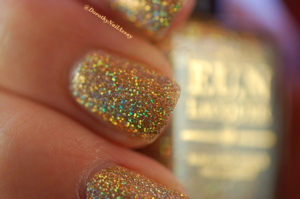 FUN lacquer swatch million dollar dream 10