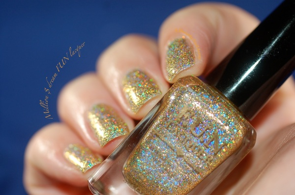 FUN lacquer swatch million dollar dream 2
