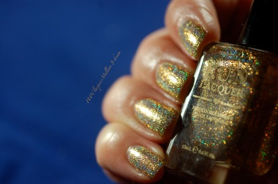 FUN lacquer swatch million dollar dream 4