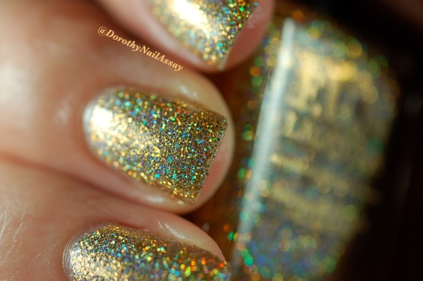 FUN lacquer swatch million dollar dream GP