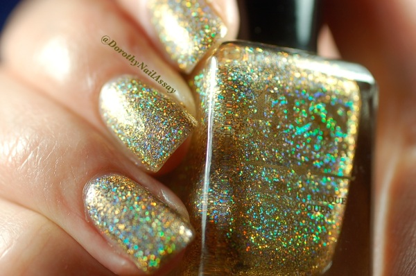 FUN lacquer swatch million dollar dream