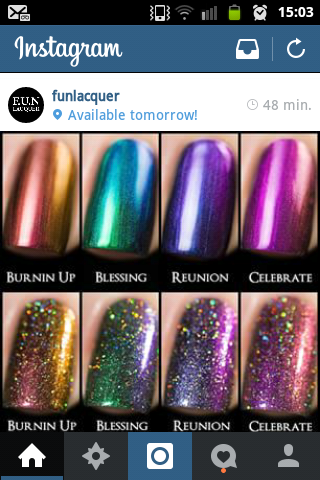 Fun lacquer multichrome collection 2015