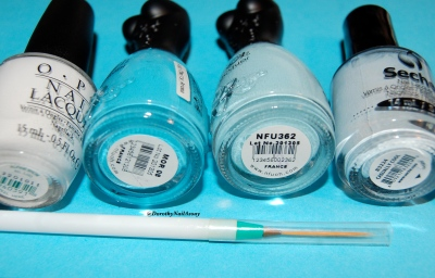 Material and methods  casually cool Sèche, NFU oH 362 and MOR08 and top coat quick dry Poshé