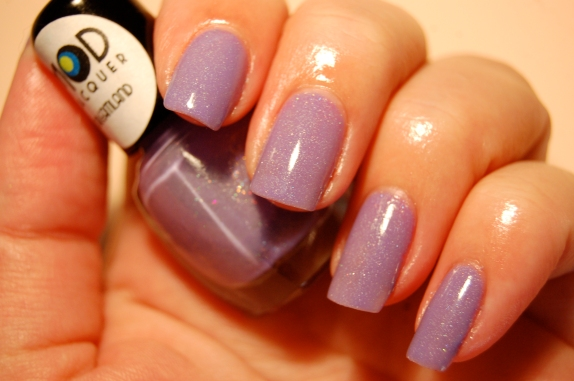 swatch MOD lacquer Dream land! lavender holographic!