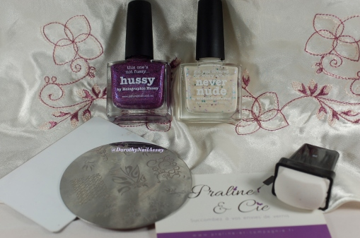 Material and Method for Nail art Sweet fairy, Picture Polish.