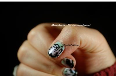 non dominant hand...