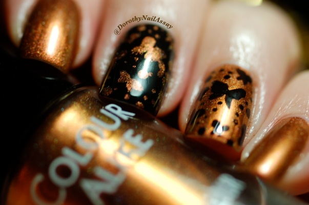papillon inspiration nail art sur colour alike 549 2