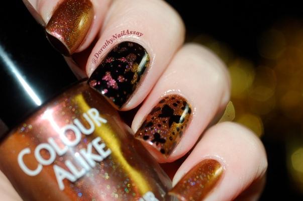 papillon inspiration nail art sur colour alike 549 5