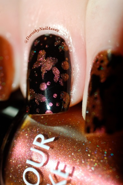 papillon inspiration nail art sur colour alike 549 8
