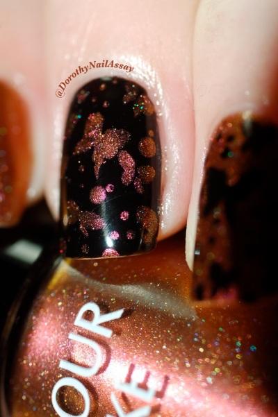 papillon inspiration nail art sur colour alike 549 8