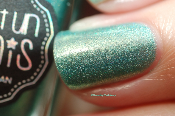 Shimmer doré de mint to be yours Il Etait Un Vernis