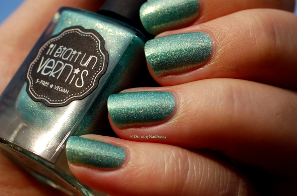 mint to be yours swatch in the sunset