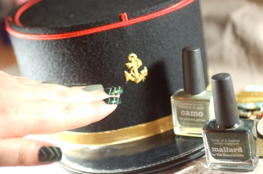 picture polish camo and mallard nail art 4