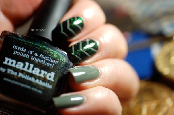 picture polish camo and mallard nail art 6