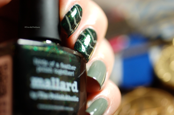 picture polish camo and mallard nail art 7