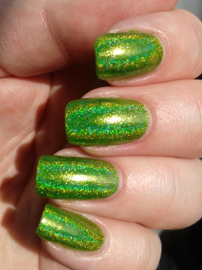 swatch FUN lacquer Mowed meadow natural sunlight