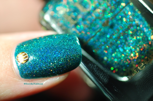 macro shot Glitzy Glam Fun Lacquer artificial light