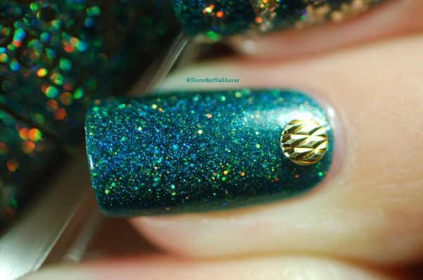 Macro glitzy Glam FUN lacquer !