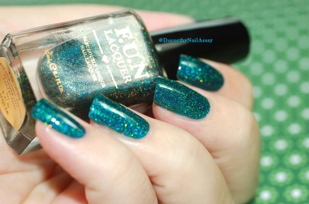 Glitzy Glam Fun Lacquer lumière artificielle