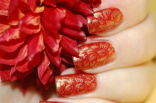 Nail Art dahlia seductive marmalade FUN lacquer