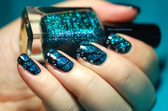 Nailstorming , L'effet papillon en nail art.
