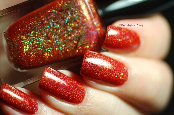 Seductive marmalade in artificial light so sparkly
