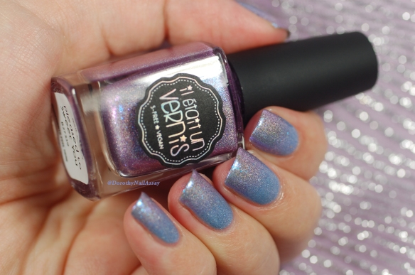 gradient IL Etait Un Vernis Hydrangea + Pleased to sweet you