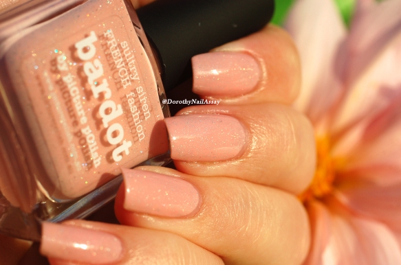 Swatch Bardot Picture Polish sunset light + cosmos