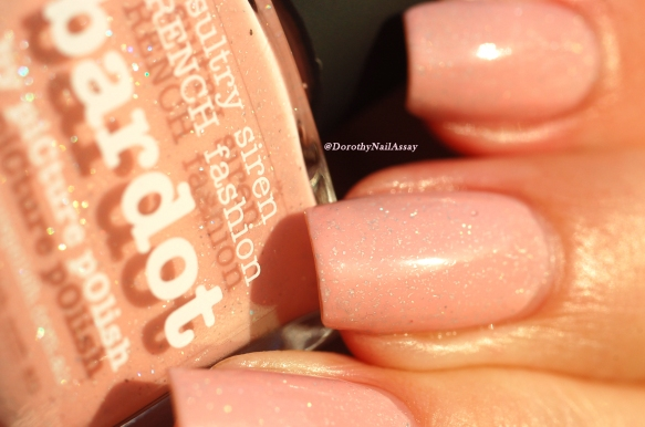 Swatch Bardot Picture Polish sunlight