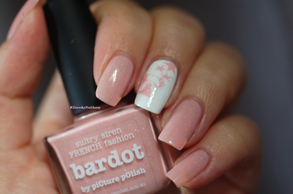 Nail art WD DOG + Bardot Picture Polish