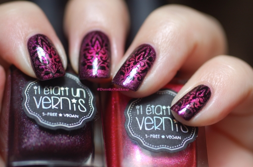 nail art baroque IEUV 11