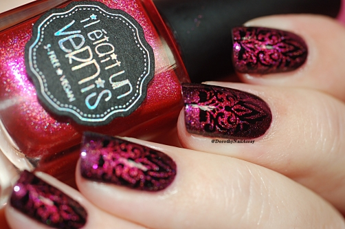 nail art baroque IEUV 17