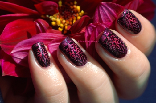 nail art baroque IEUV 2