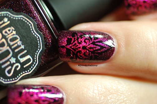 nail art baroque IEUV 22