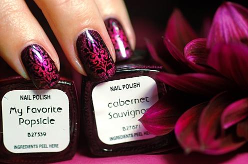 Nail Art Baroque Il Etait Un Vernis
