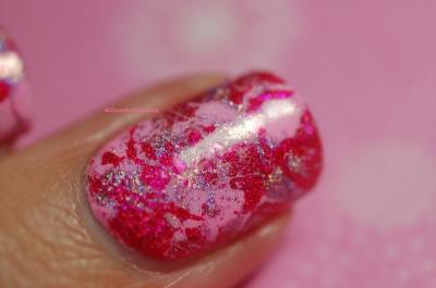 Macro des splatter nails holo
