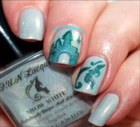 Nail art Disney avec FUN Lacquer