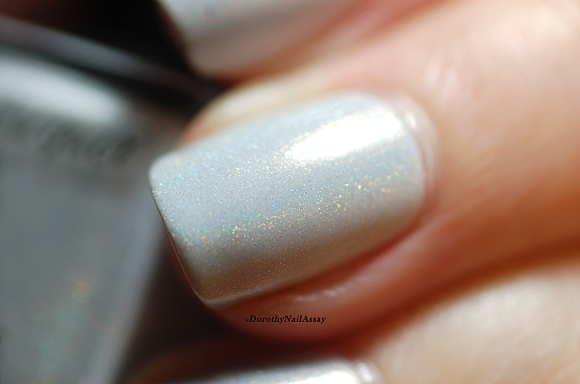 Gros plan Fun lacquer Snow white