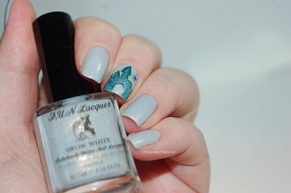 Fun lacquer snow white catle
