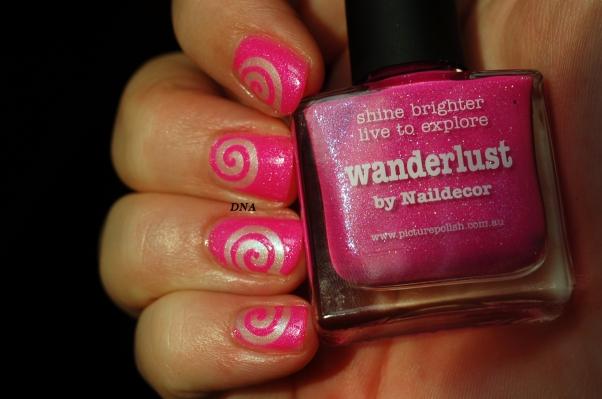 nail art stick me tourbillon My Kingdom Of Glitter 11