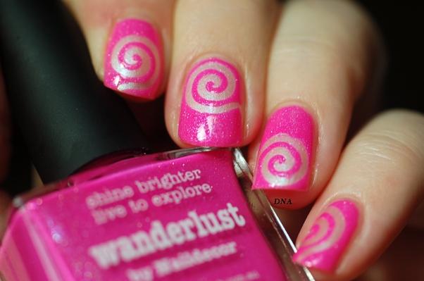 nail art stick me tourbillon My Kingdom Of Glitter