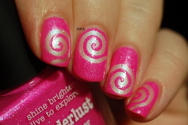 nail art stick me tourbillon My Kingdom Of Glitter 4