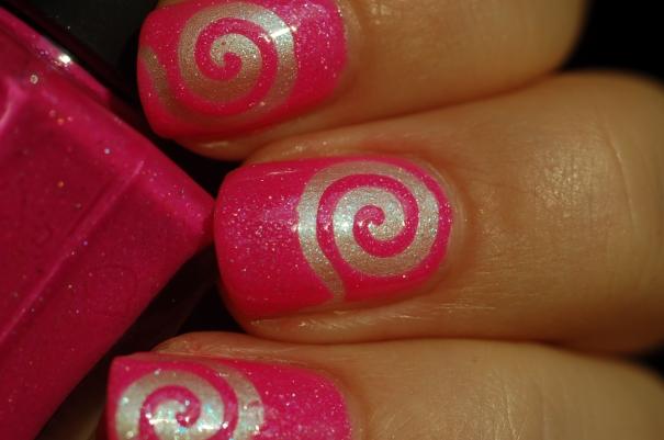 nail art stick me tourbillon My Kingdom Of Glitter 6