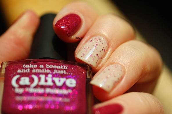 Alive et Douceur Picture Polish