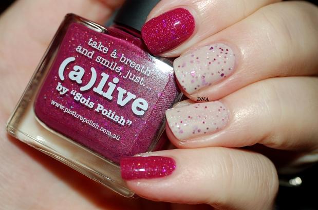 Alive et Douceur Picture Polish